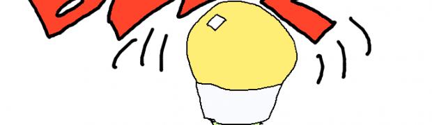 LED lampor som surrar
